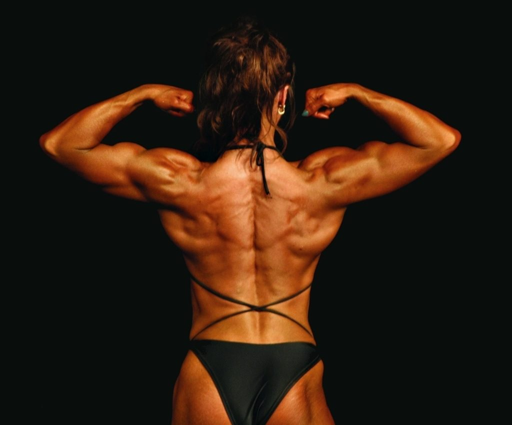 beautiful body builder lady - legal steroids