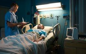 patient admitted in hospital