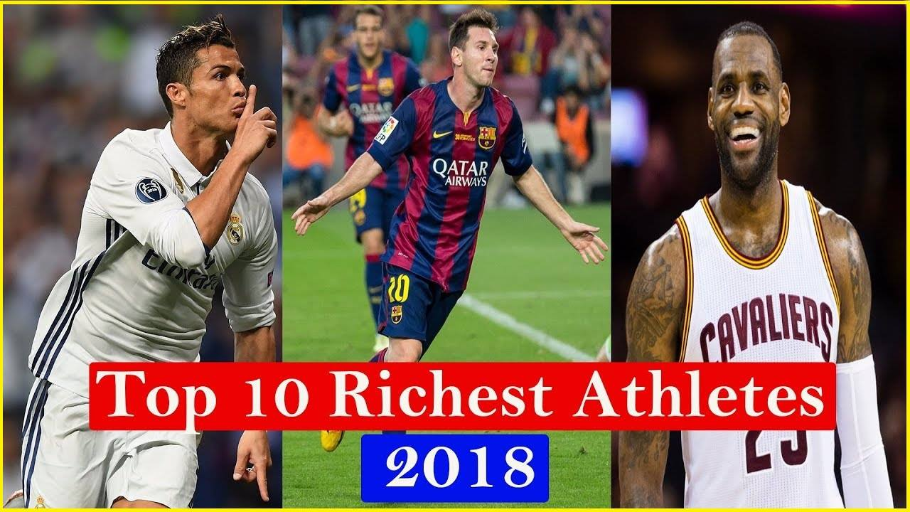 Richest athlete in the world 2018