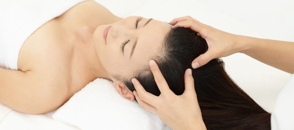 Massage your scalp to alleviate for prevent hair loss