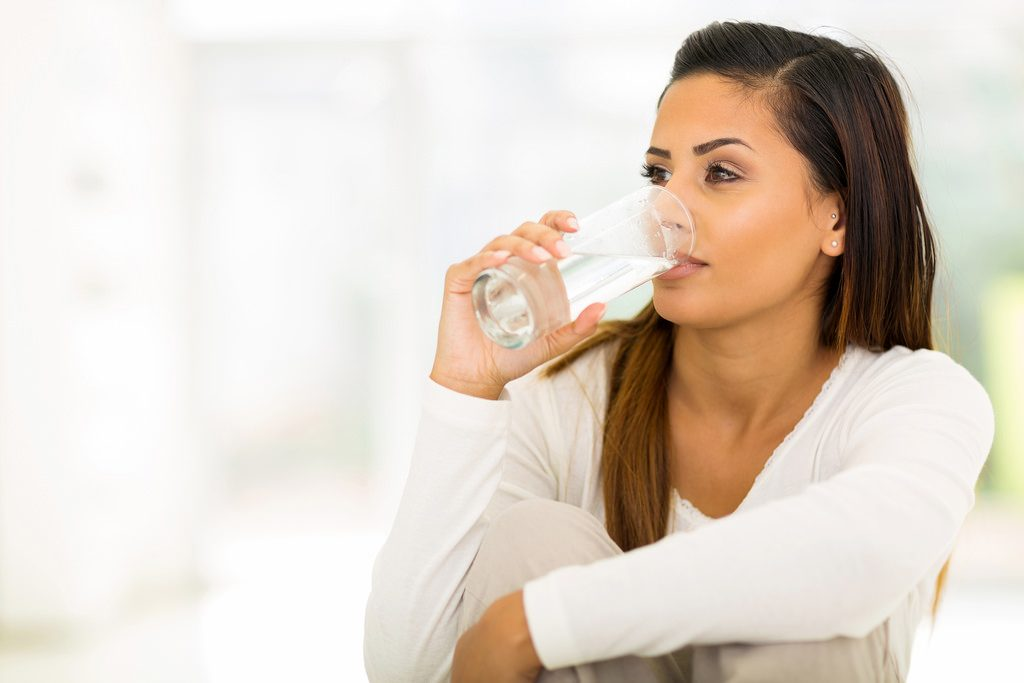 drinking water for hair loss