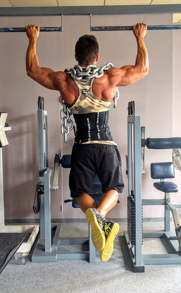 pull ups exercise