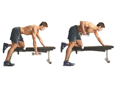Dumbbell Rows exercise