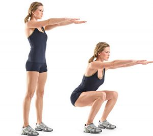 squat - Exercise no. 2