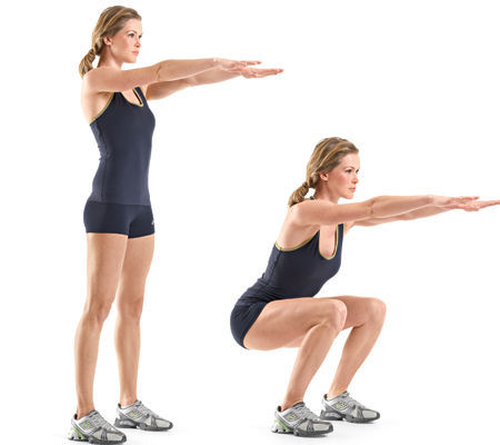 squat - Exercise no. 2