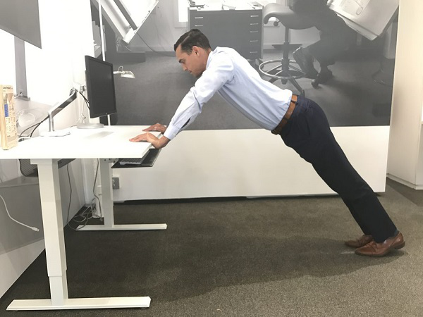 Planks with your Desk