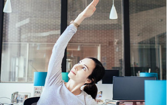 Quick Yoga Exercises for Office Workers