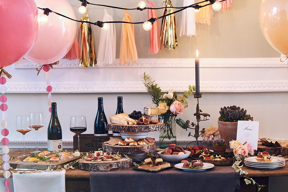 wedding food preparation