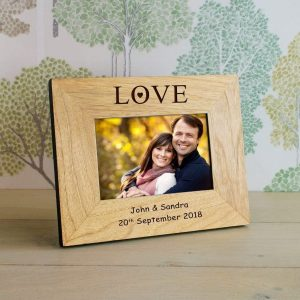 personalized photo frame gifts for anniversary