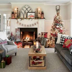 Furniture decoration ideas for christmas
