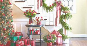 Layered decoration for Christmas