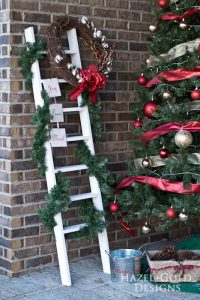ladder decoration for christmas