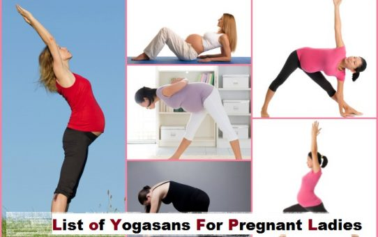 List of Yoga Asanas for Pregnant Ladies