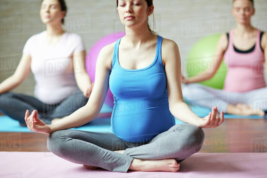 Padmasana - pregnancy helpful