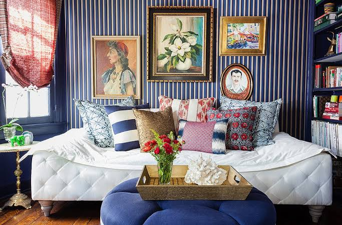 living room decoration ideas - sofa beds and tables