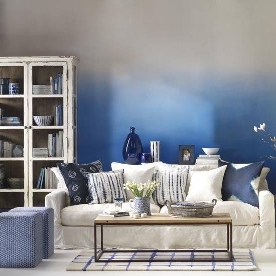 living room ombre decoration ideas