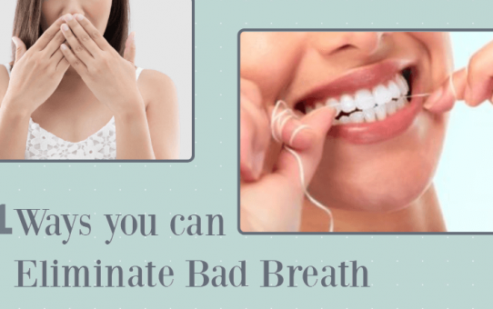 11 Ways you can Eliminate Bad Breath