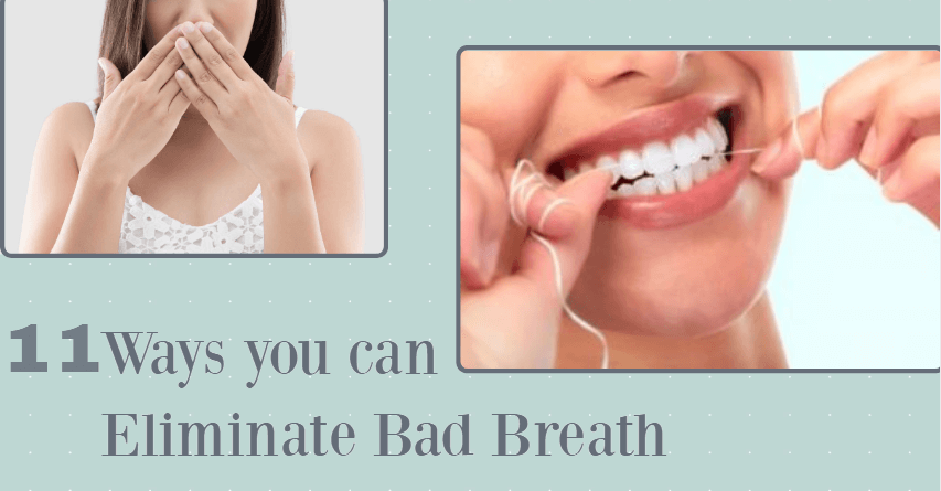 how to remove bad breath